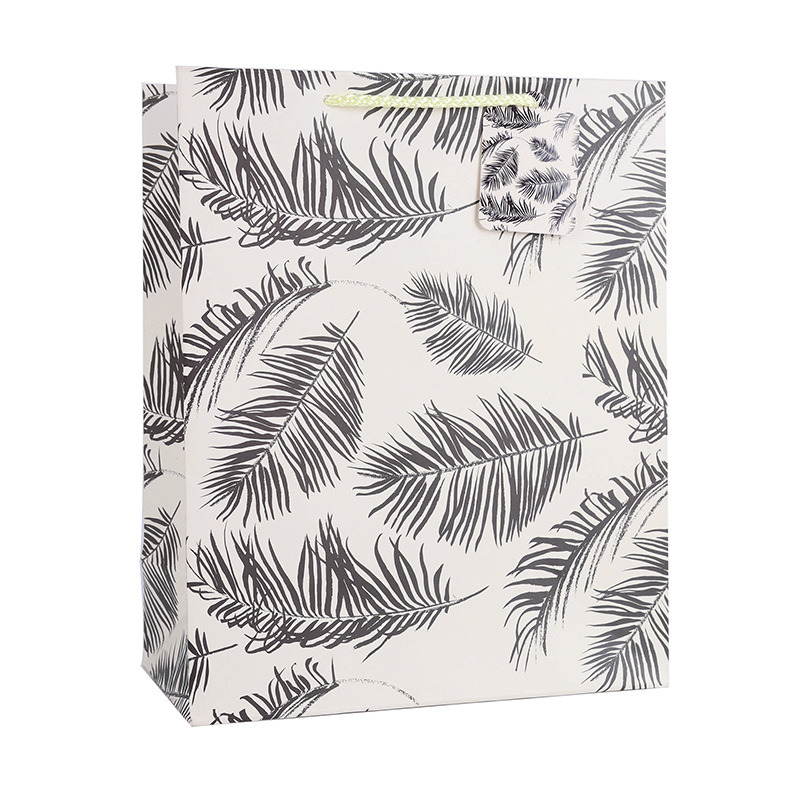 Reusable Plant Design Art Paper Bag Colorful Spot Wholesale Custom Logo Printing pictures & photos