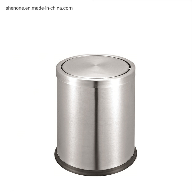China Shenone Durable Innovative Hotel Room Garbage Bin Trash Can Pedal Small Metal Trash Bin Photos Pictures Made In China Com