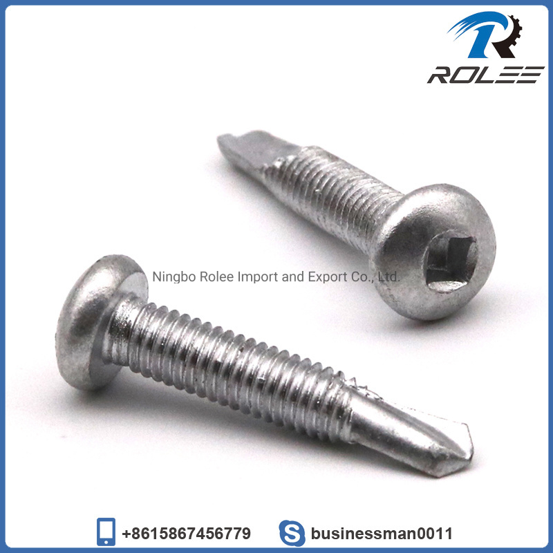 Square drive tek screws