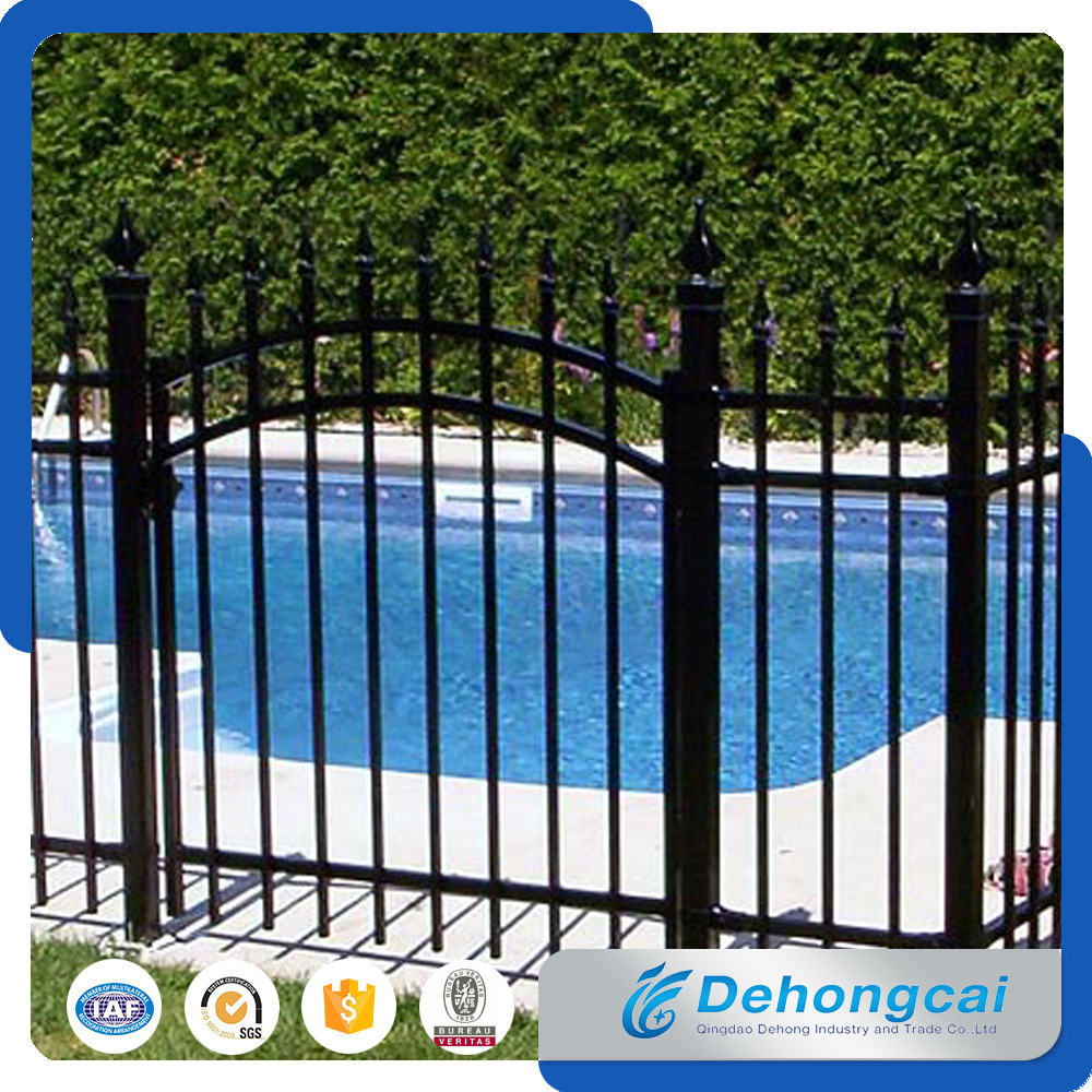 China Wholesale High Quality Steel Fence / Pool Wrought Iron Fence ...
