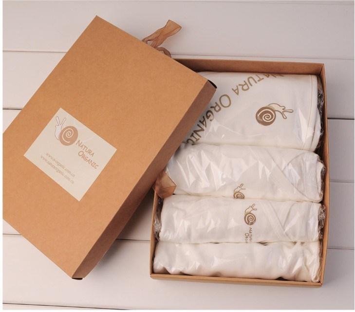 China 100 Organic Cotton Baby Gift Set Baby Clothes 4pcs