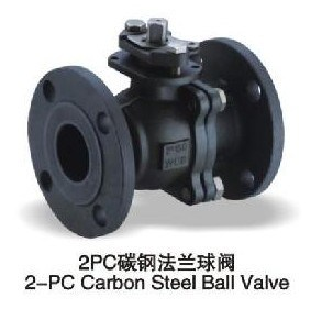 2PC Wcb Flange Ball Valve (Q41F-16C)