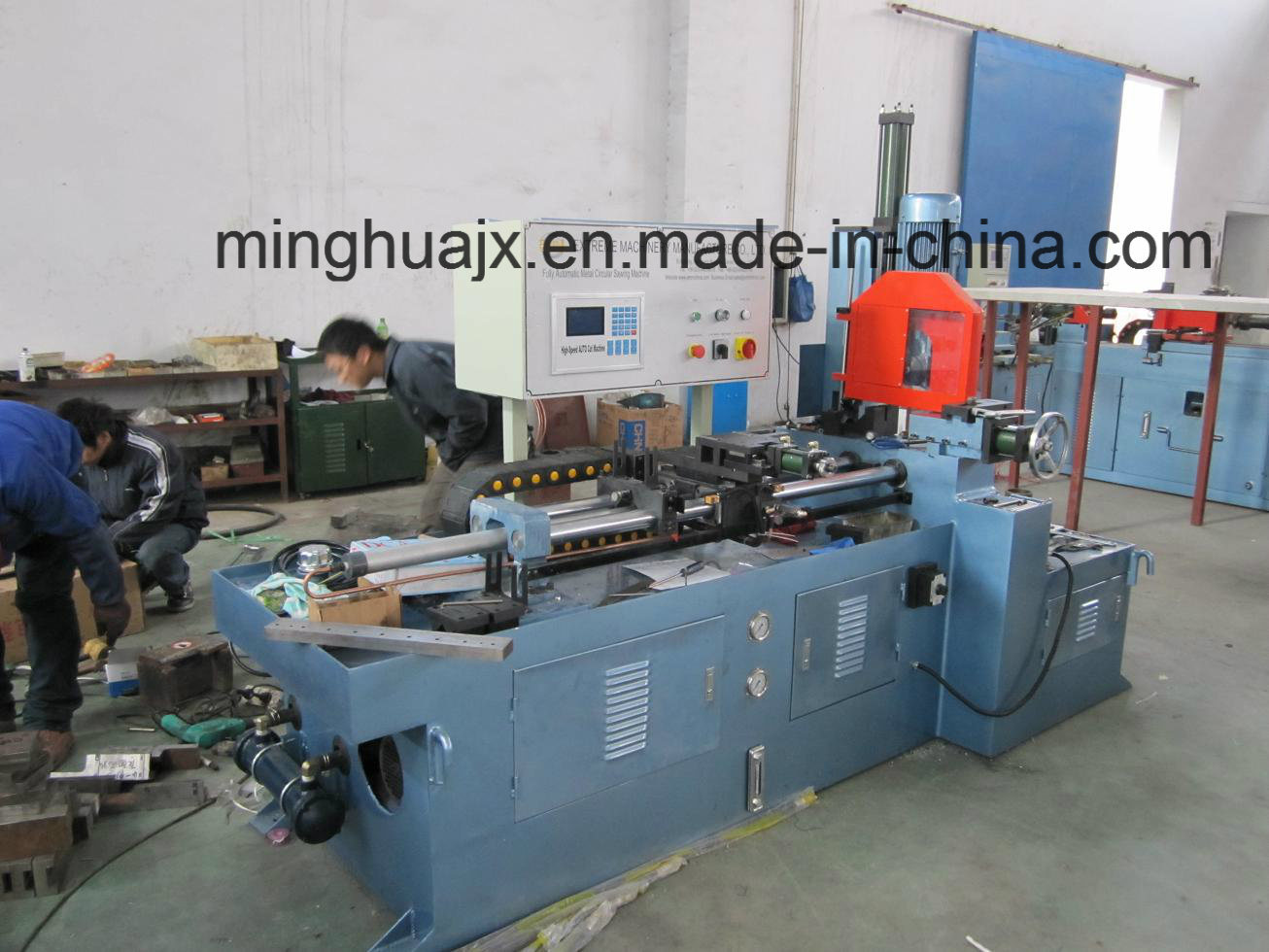 Fully Automatic CNC Pipe Cutting Machine Mc-275SL