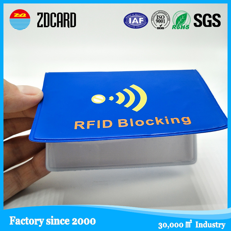 China Custom Logo Printable RFID Blocking Plastic Business Card ...