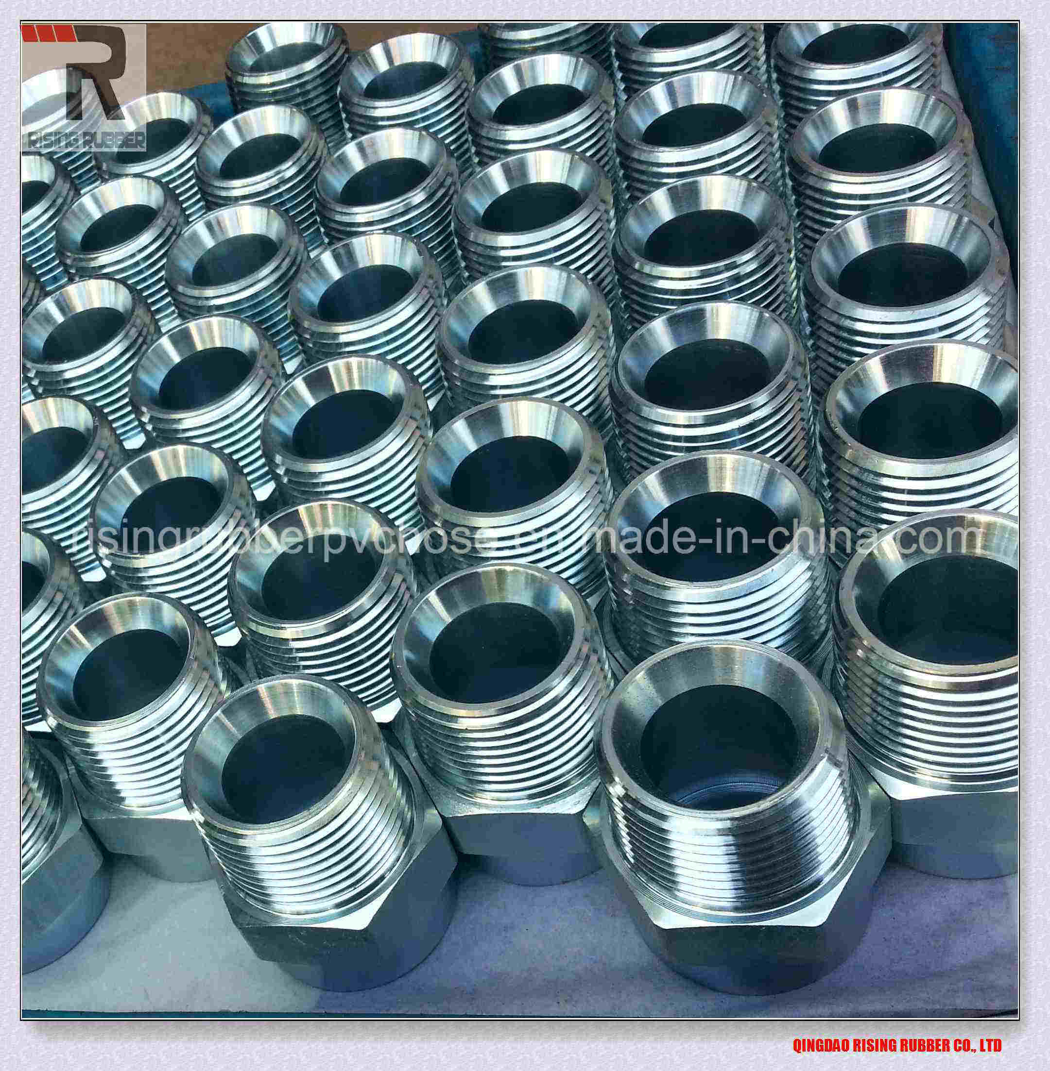Carbon Steel Ferrule for SAE R1at/R2at/R12/DIN 4sh pictures & photos