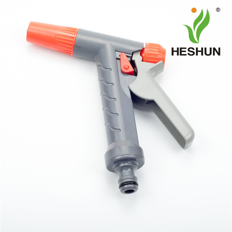 High Pressure Plastic Car Washing Spray Gun Garden Hose Jet Nozzle