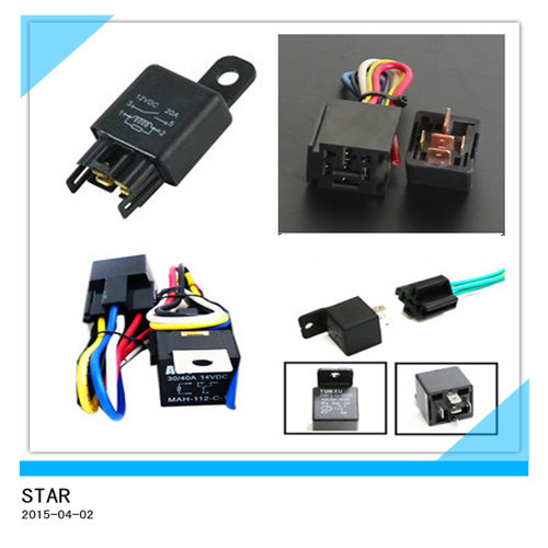 Waterproof Automotive 12V 30A Relay of Car Light pictures & photos