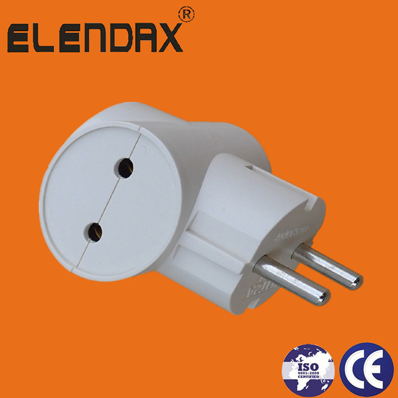 China European Style 2 Pin Electric Plug with Earth (P7032) - China ...