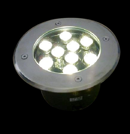 china 7w ip67 led in ground driveway lights for outdoor lighting