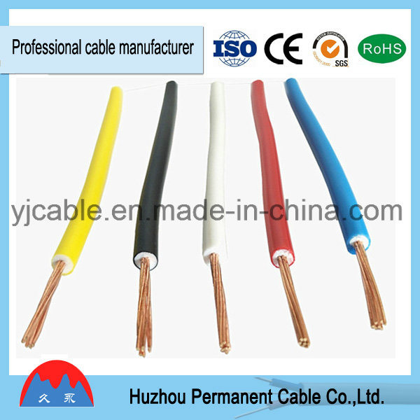 China 600V Stranded Single Cable, PVC Insulated Annealed Copper ...