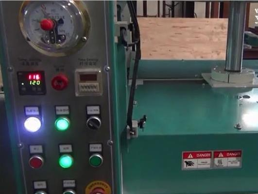 Automatic Hot Press Wood Laminate Machine pictures & photos
