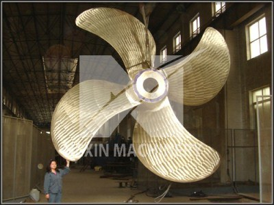 Bronze Propeller with Diameter 7 M