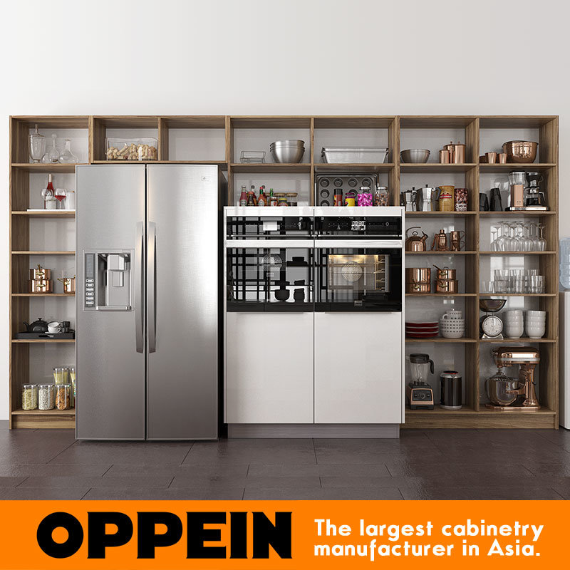 Oppein Guangzhou Furniture Factory Ready Made European New Design Kitchen Cabinets