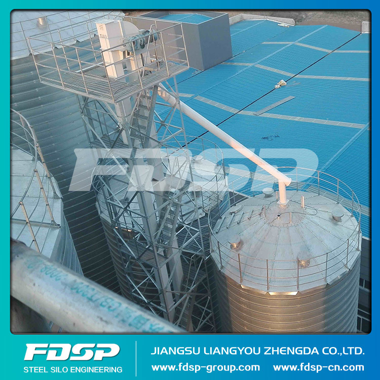 Qulified Most Popular Chicken Feed Silo Steel Silo for Grain Storage pictures & photos