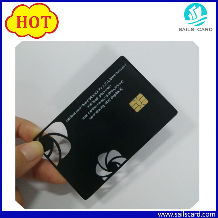 China new arrival qr code black metal business card photos new arrival qr code black metal business card reheart Images