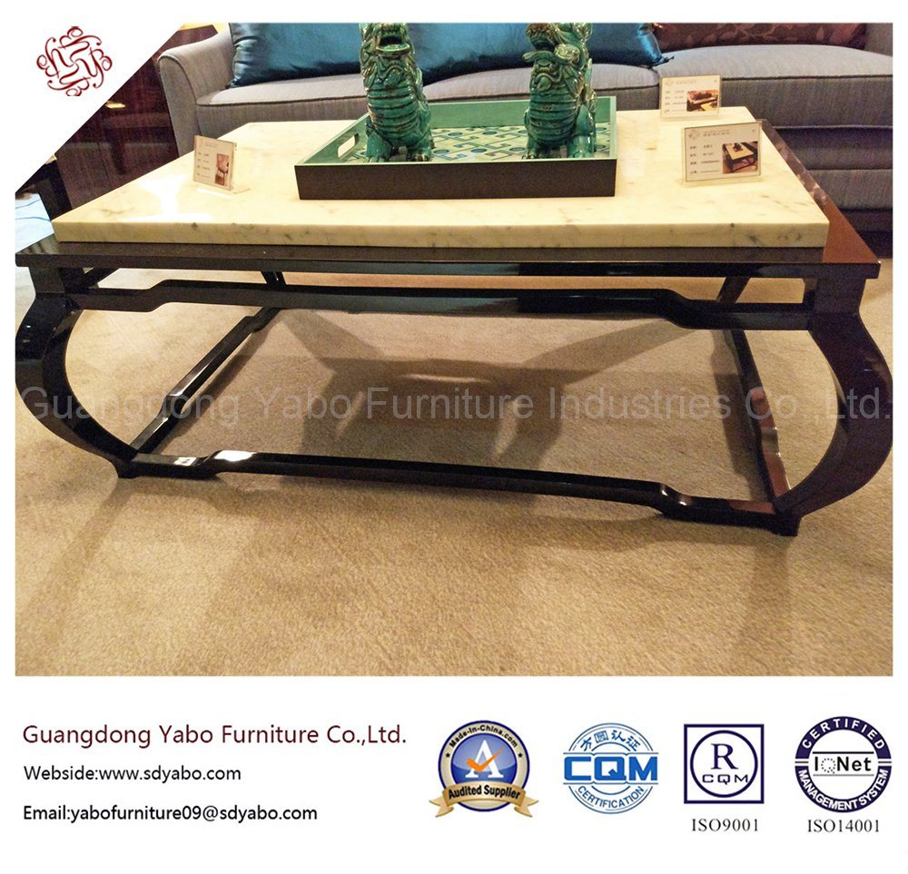 Chinese Style Hotel Furniture With Lobby Marble Coffee Table Yb D 25 1 China