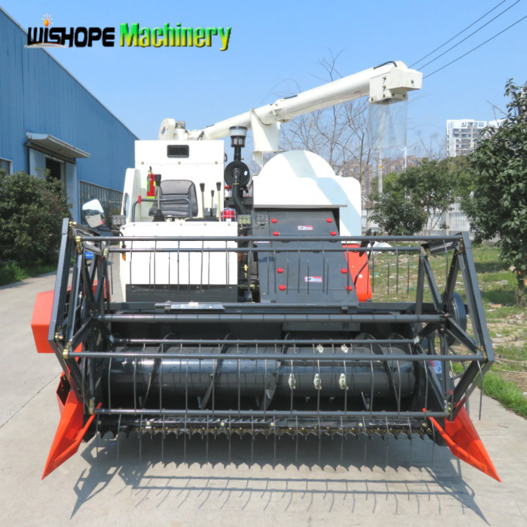 Wishope 360 Degree Rotating Unloading Auger Combine Harvester Machine pictures & photos