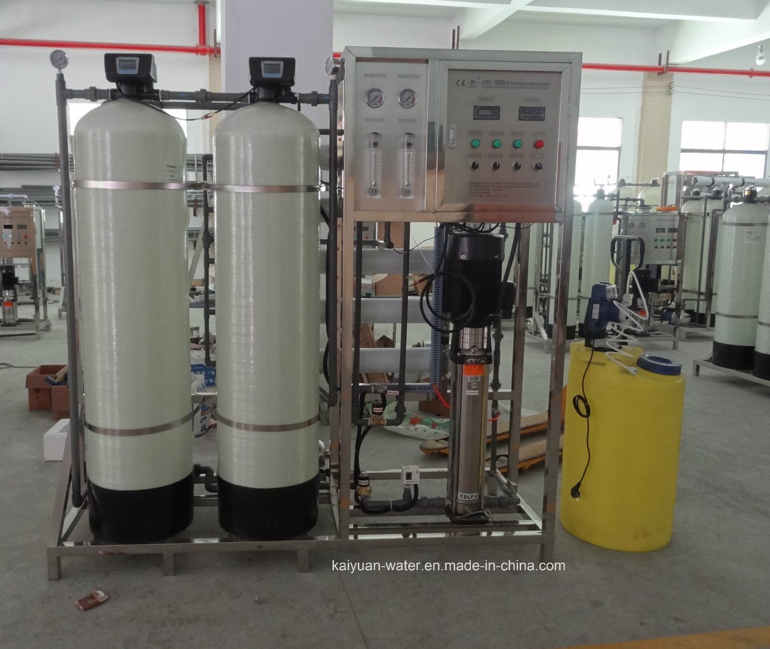 China 1000lph Salt Water Treatment System Well Water Desalination