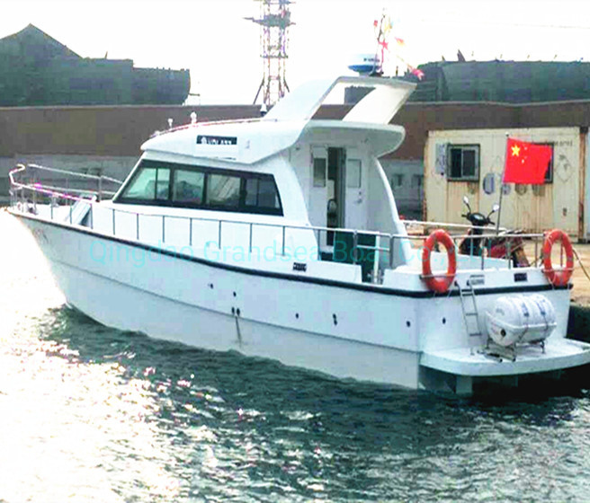 China 52ft 15 8m Frp Fiberglass Cabin Cruiser Sport Fishing Boats For Sale China Boat And Fishing Boat Price Made In China Com
