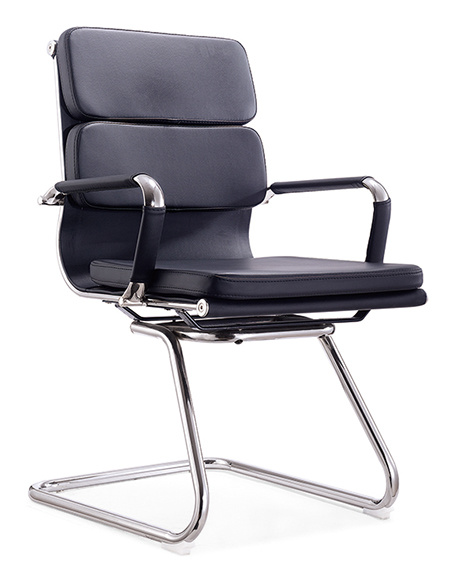 Meeting Chairs Conference Room Leather Office Visitor Chair (SZ-OC147) pictures & photos