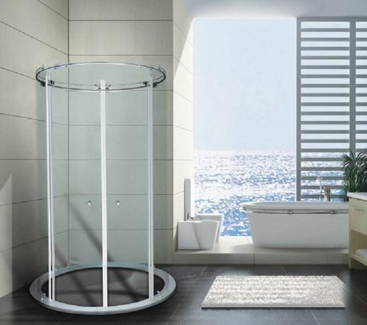 China Round Glass Shower Enclosure China Glass Shower