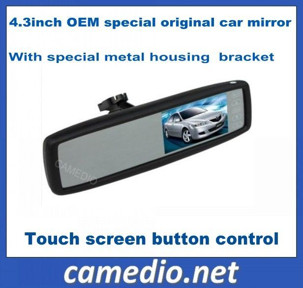 4.3inch OEM Special Original Car Rear View Mirror with LCD Monitor pictures & photos
