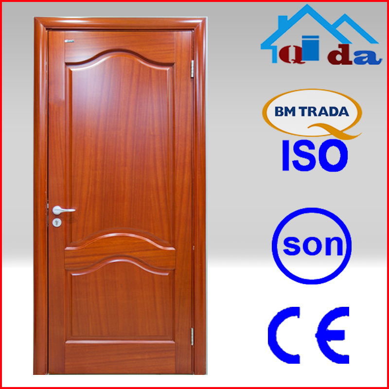 China Double Solid Wood Bedroom Door Design Qd Wd170 China