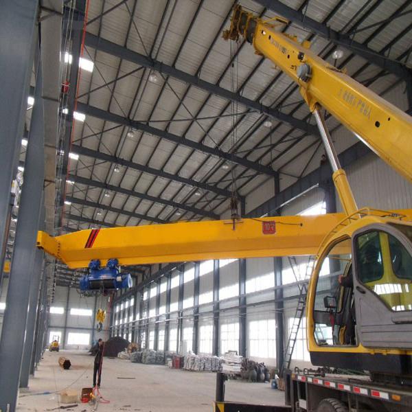 China EOT Cranes Manufacturer Tavol Brand Double Beam