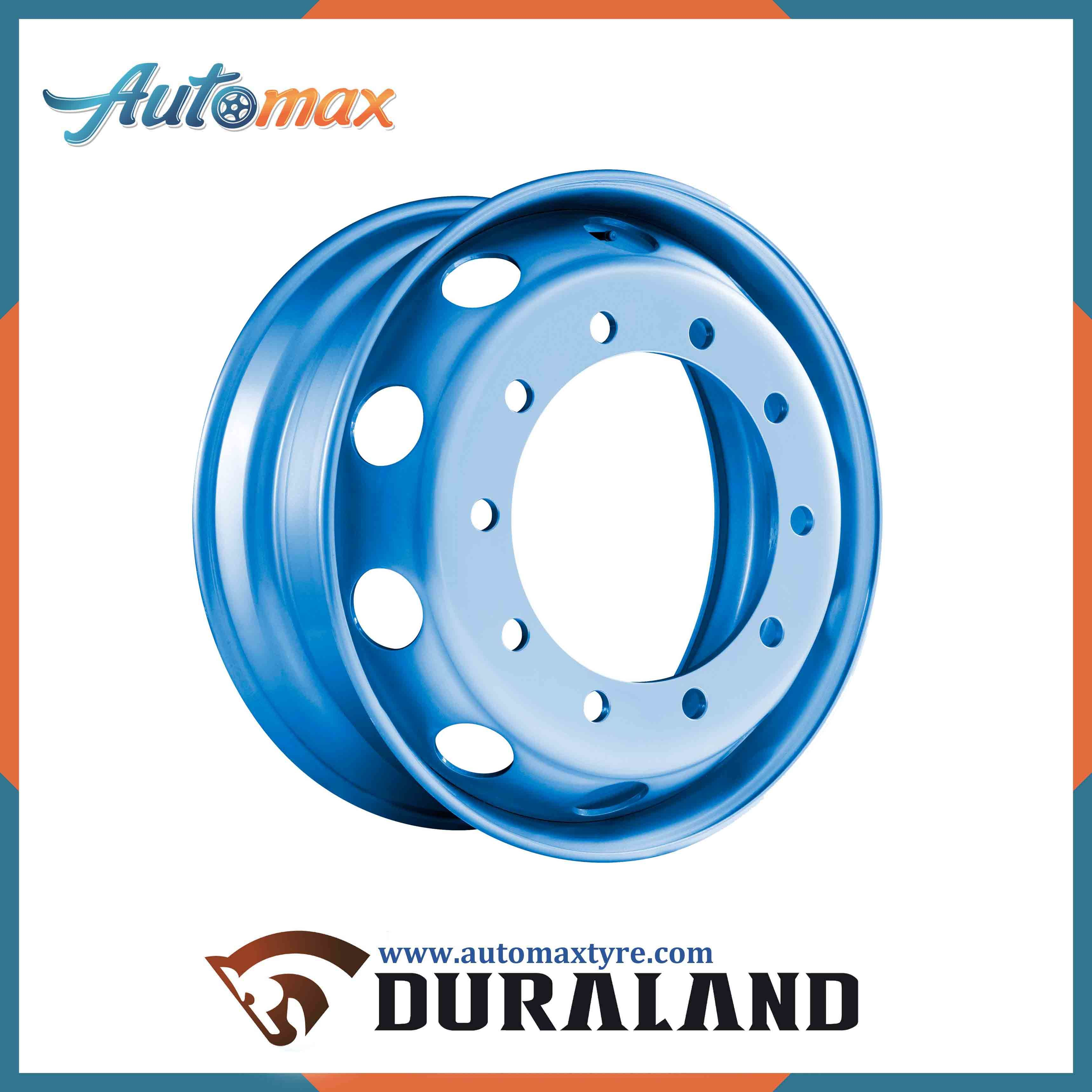 China Alloy Auto Wheel Supplier Tubeless Forged Truck Aluminium Rim