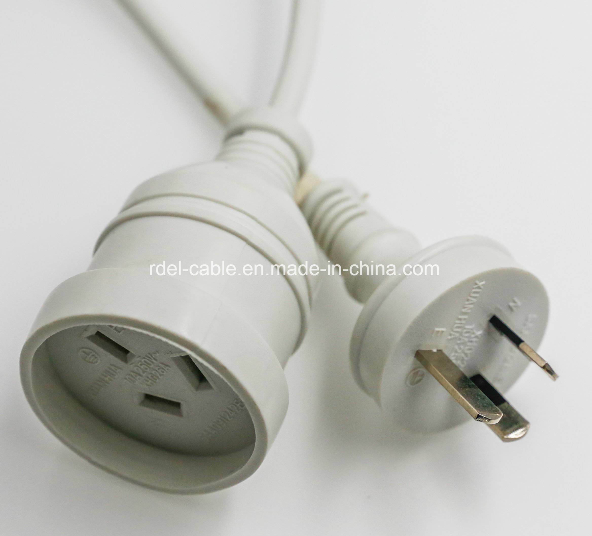 China Saa Extension Lead Australia Australian Power Cord Standard Salt Lamp Po Approved