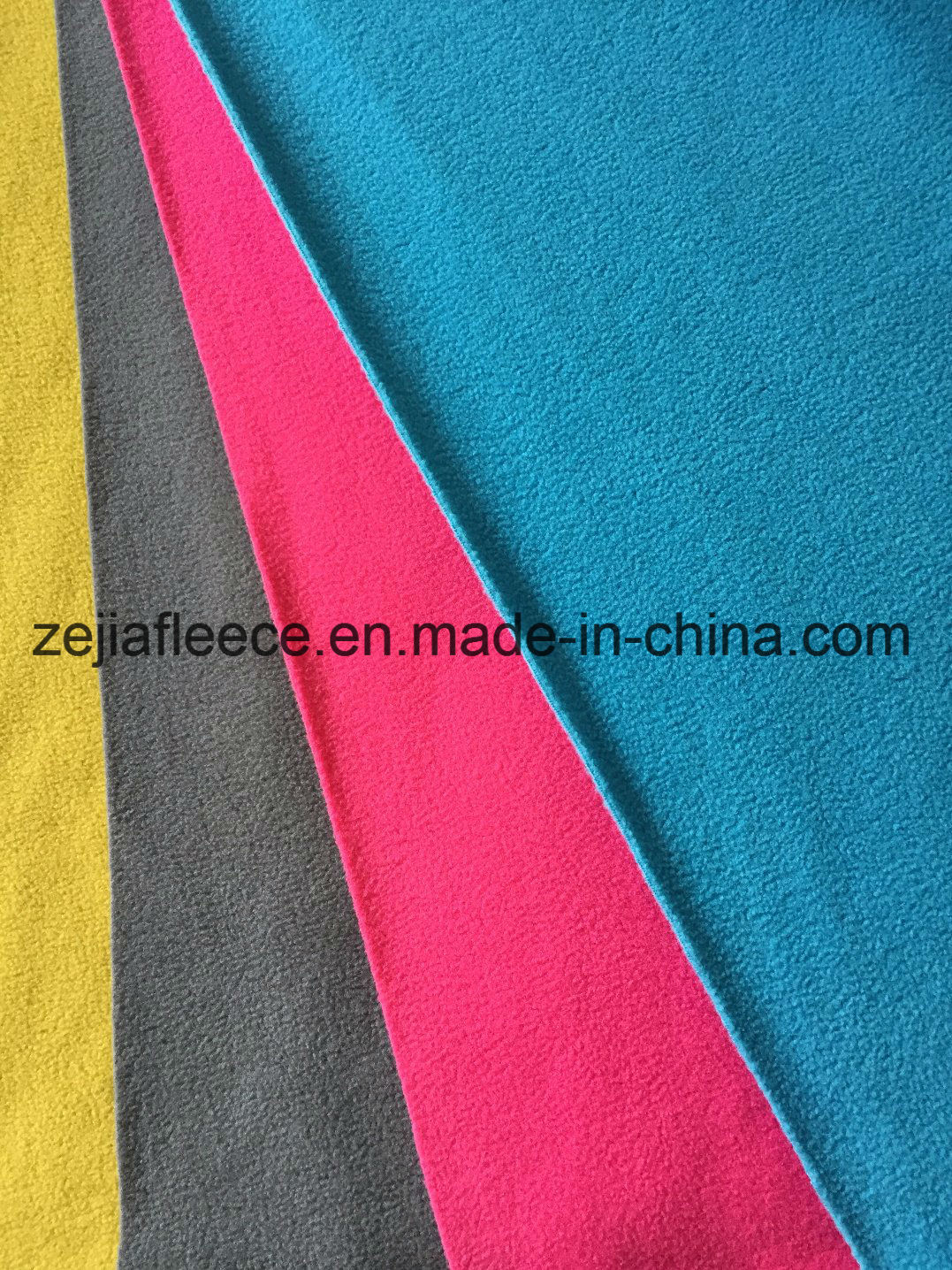 100% Polyester DTY Mirco Polar Fleece