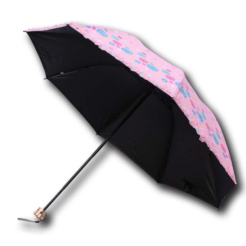 Good Quality 3 Foldable Rain Umbrella pictures & photos