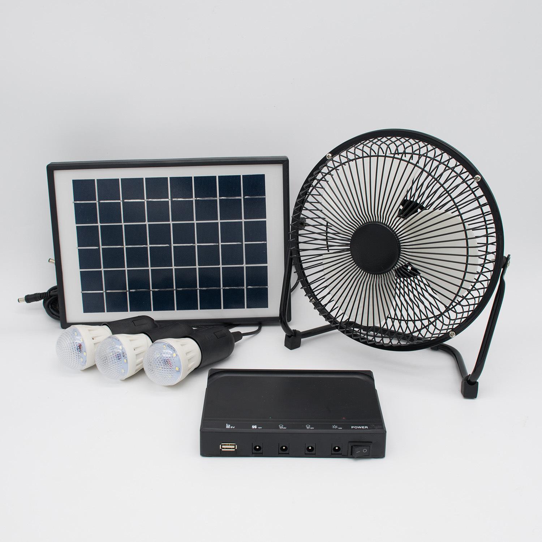 Solar Power Fan >> Hot Item Solar System Solar Panel Fan Rv Touring Car Camping Pet Chicken House Ventilator