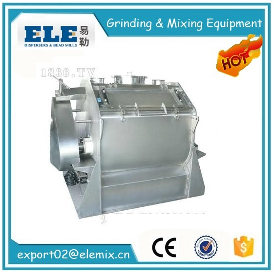 Ewj Double Shaft Paddle Type Mixer Machine for Dry Powder Mixing