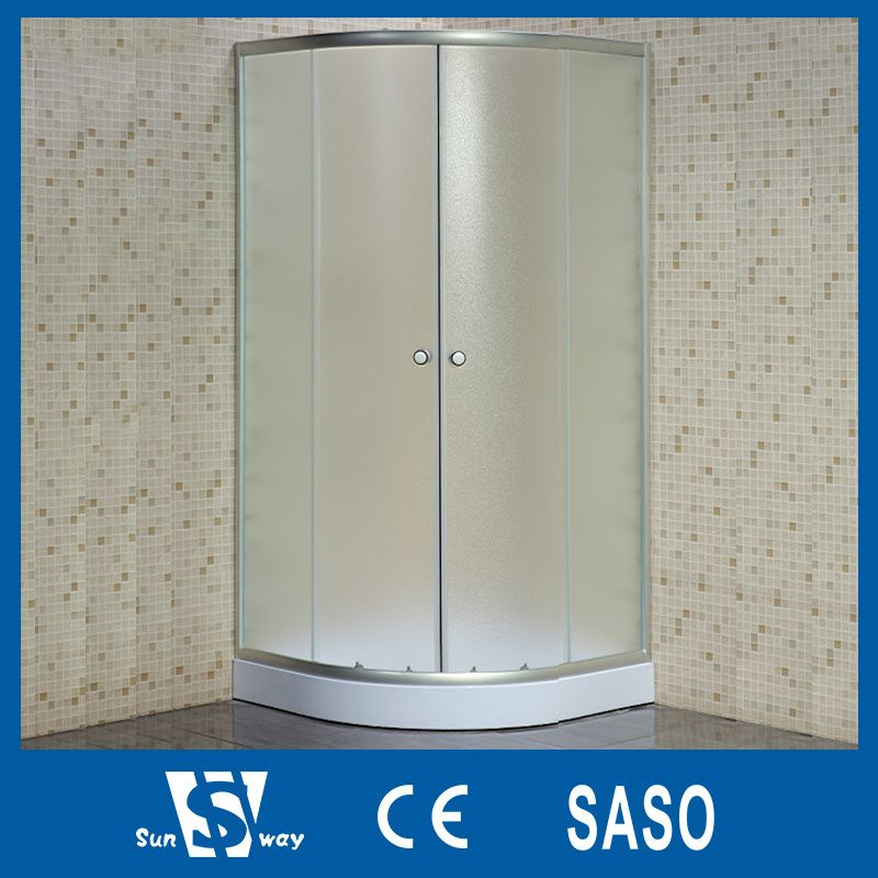 China Low Price Frosted Glass Shower Cabins - China Frosted Glass ...
