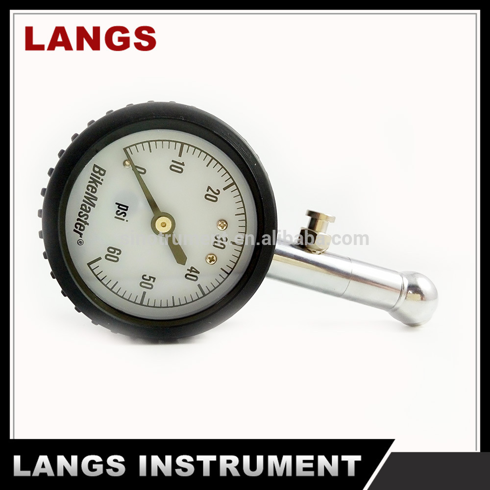 "022 2"" Black Steel Vacuum Pressure Gauge"
