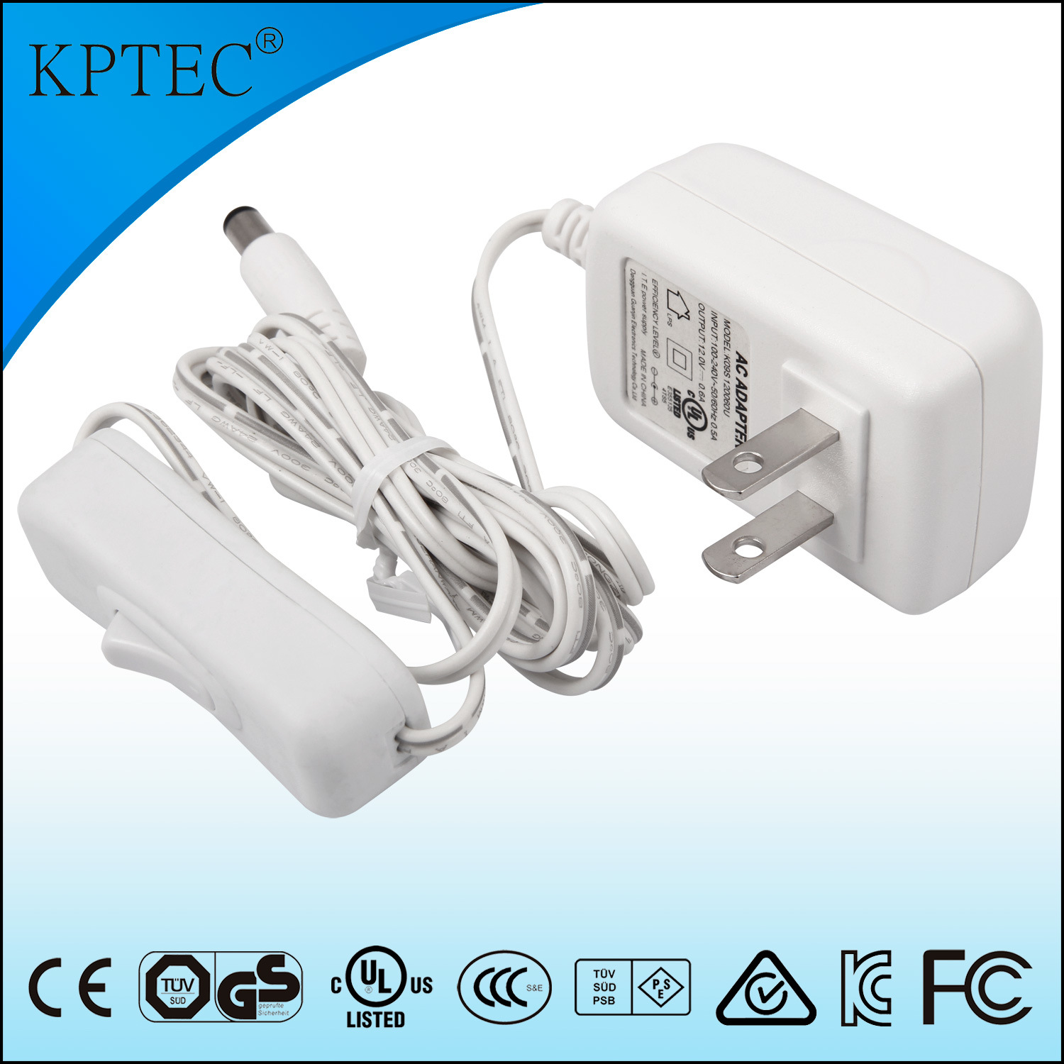 China 9v 1a 9w Ac Dc Switching Power Adapter Supply With Usa Output Standard Plug Charger