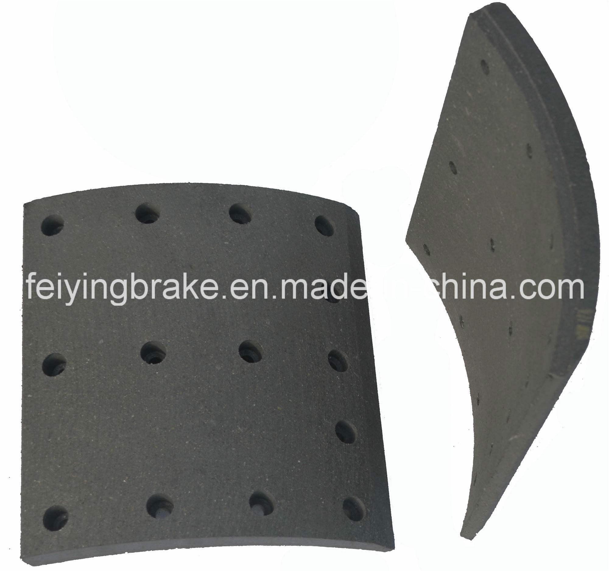 European Truck Brake Lining (WVA: 19939 BFMC VL/88/1) with Asbestos and Asbestos Free