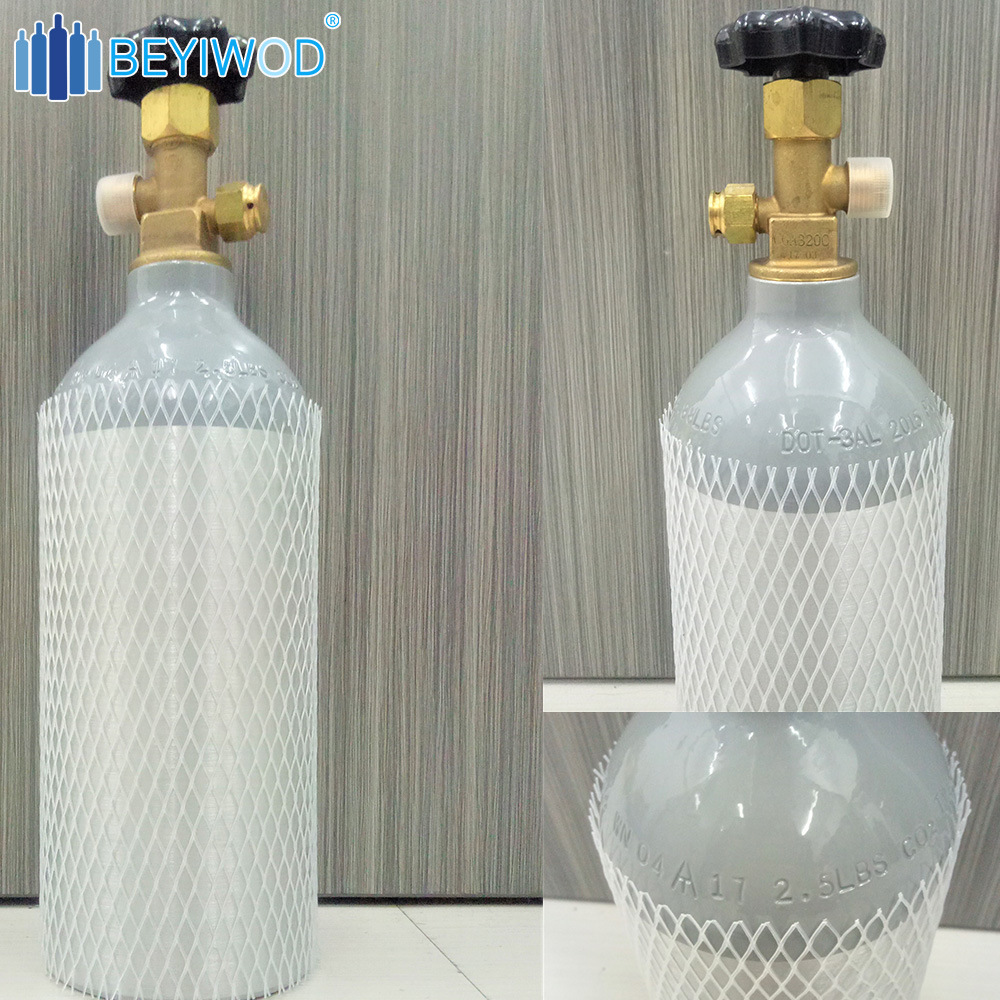 China High Pressure Aluminium Cylinder/Food Grade CO2 Tank for Sale