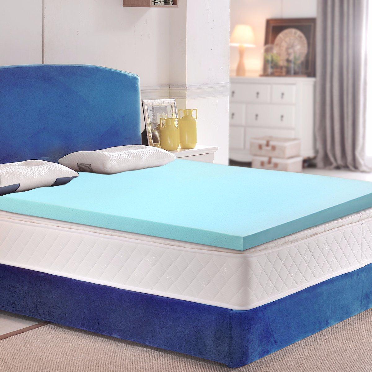 China Sleepwell Cool Gel Memory Foam Mattress Topper Home Leisure