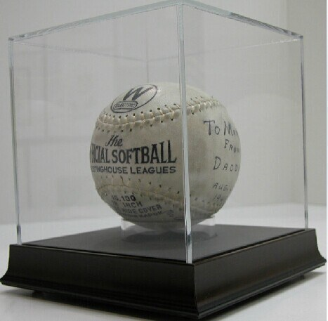 Acrylic Basketball Case, Acrylic Basketball Display Box, Acrylic Football Display Case