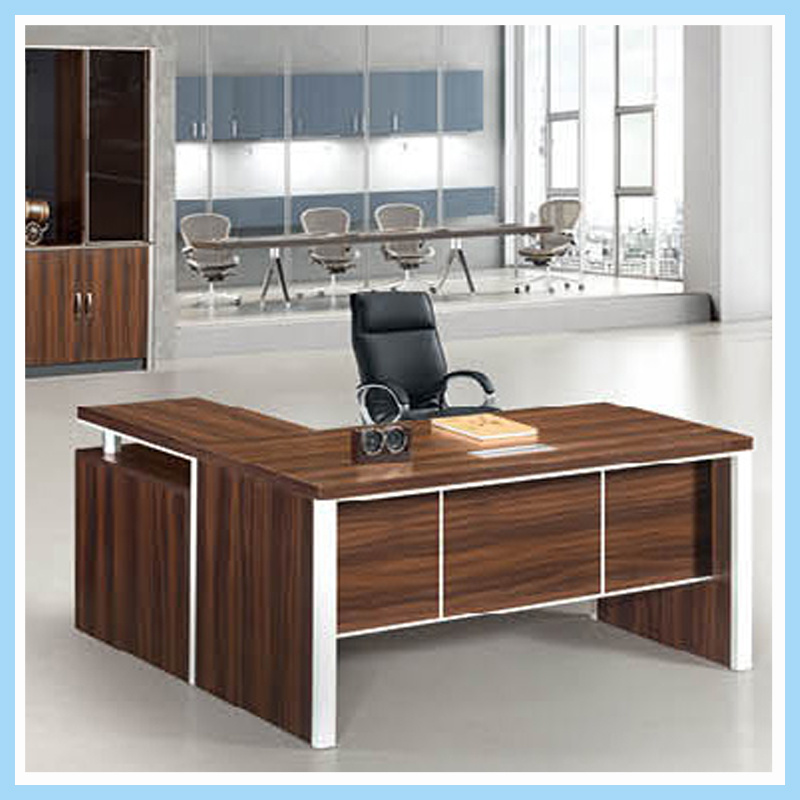 China High Quality Melamine Laminated Office Desk Executive Manager Table Furniture
