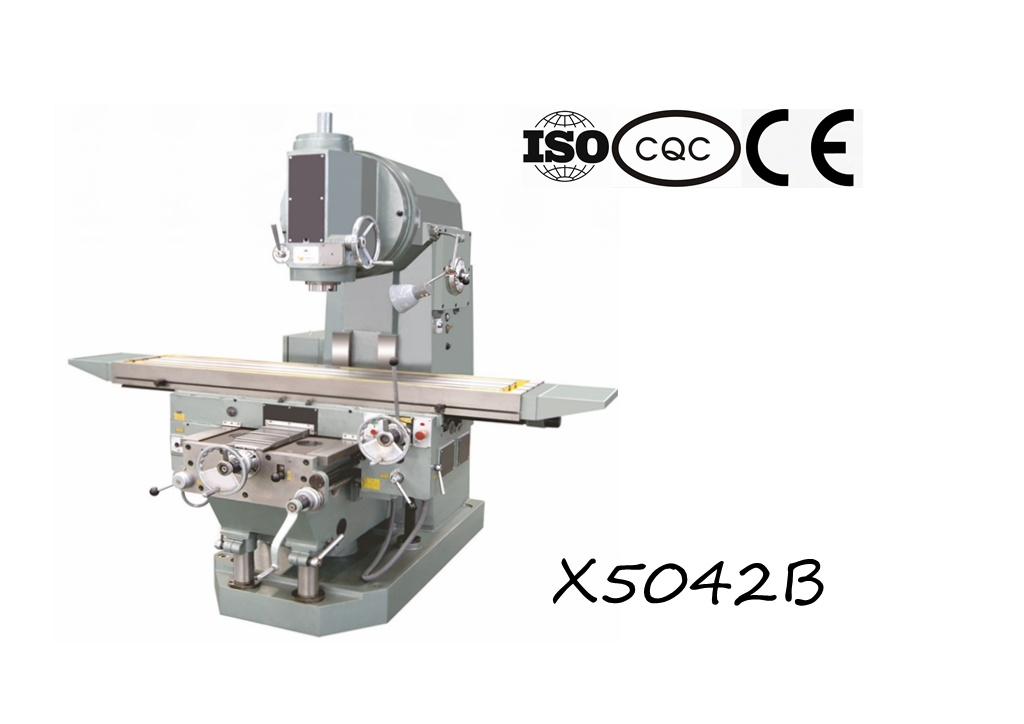 X5042b Heavy-Duty Vertical Knee-Type Milling Machine