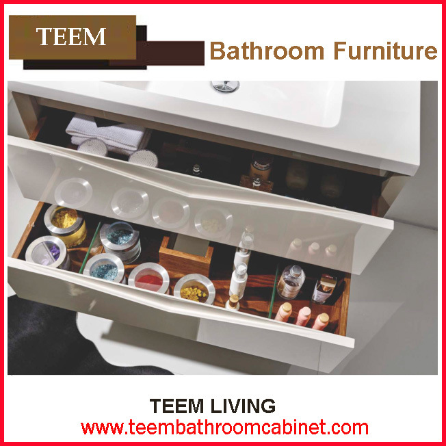 Yes Include Basin and Vanity Combo Type Solid Wood Bathroom Furniture
