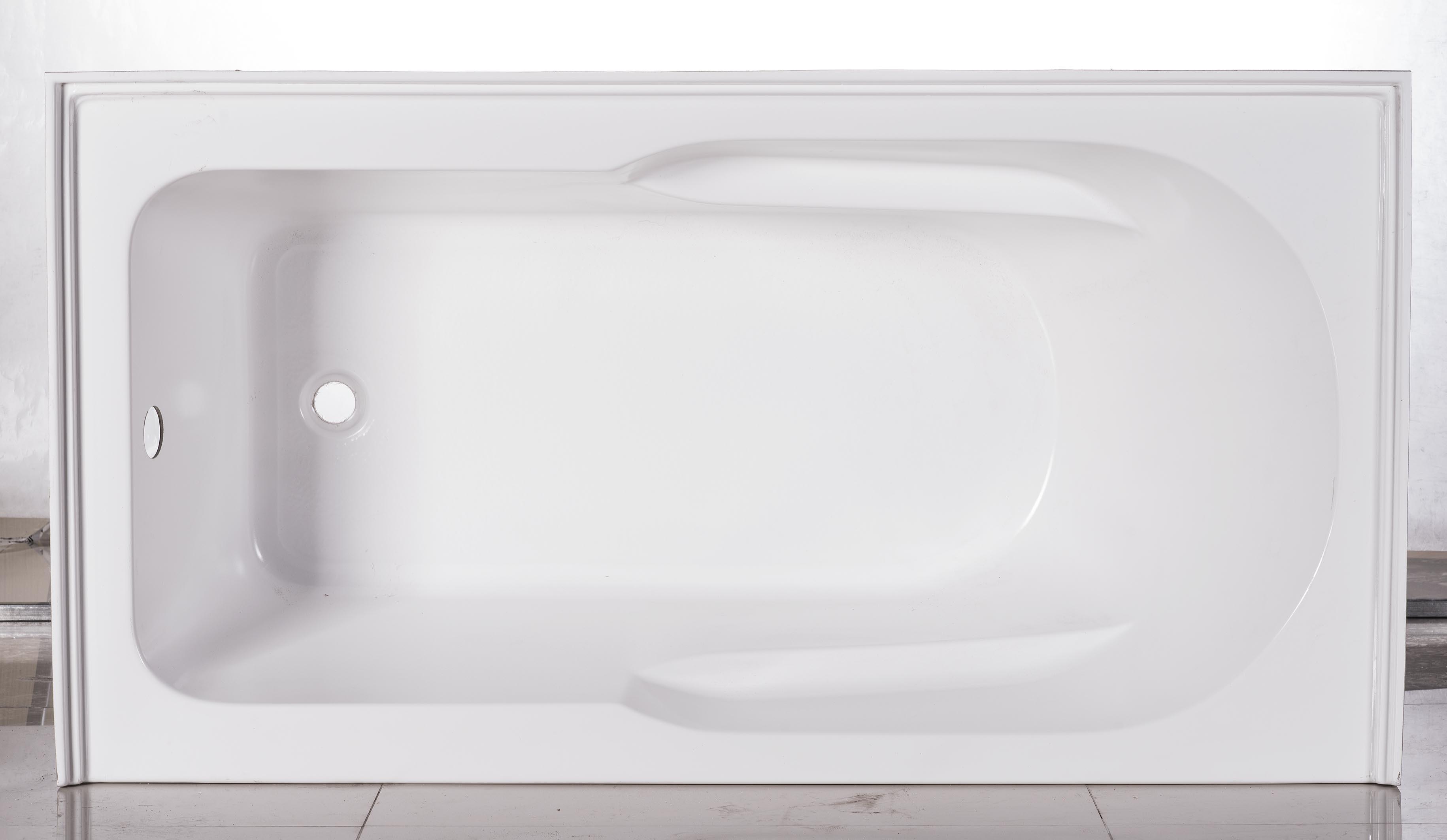 China Cupc Alcove Skirt Bathtub with Tile Flange 60\