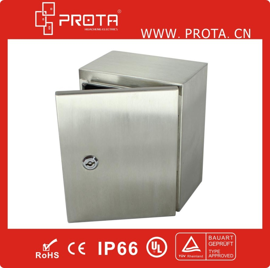 IP66 Stainless Steel Wall Mounting Enclosures