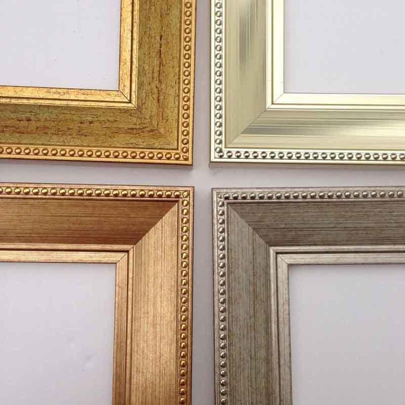 China J06041series Plastic Ornate Decorative Picture Wall Art Frame ...