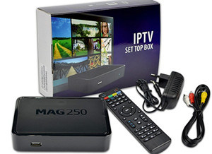 [Hot Item] Mag 250 IPTV Set Top Box Home TV Box Linux System Mag250 The  Same with Mag254 Box