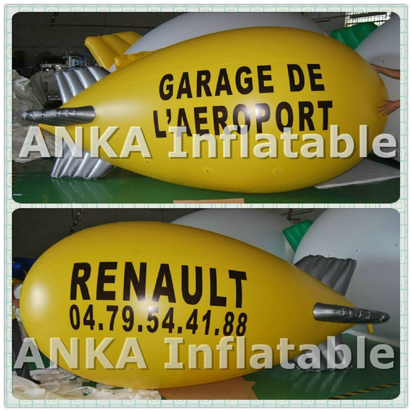 Inflatable Blimp Airplane Zeppelin Made in China