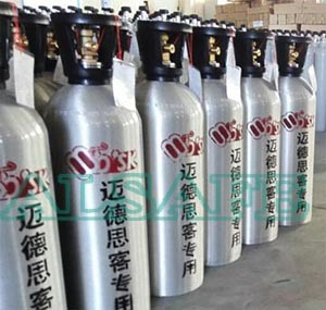 China Factory Aluminum CO2 Tank Refill Beverage - China Aluminum CO2